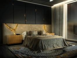 Bedroom Interior Design Dubai bedroom interior design Perfect Bedroom Interior Design Projects For Dubai's Lifestyle lapiaz white headboard 04 zoom boca do lobo 1 265x200