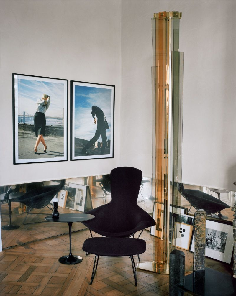 Vincenzo De Cotiis Mixes Old And New In Luxury Paris Apartment Vincenzo De Cotiis Mixes Old And New In Luxury Paris Apartment 11