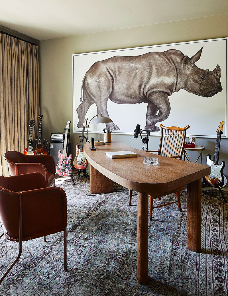 Adam Levine And Behati Prinsloo's New Home - A Clements Design Project