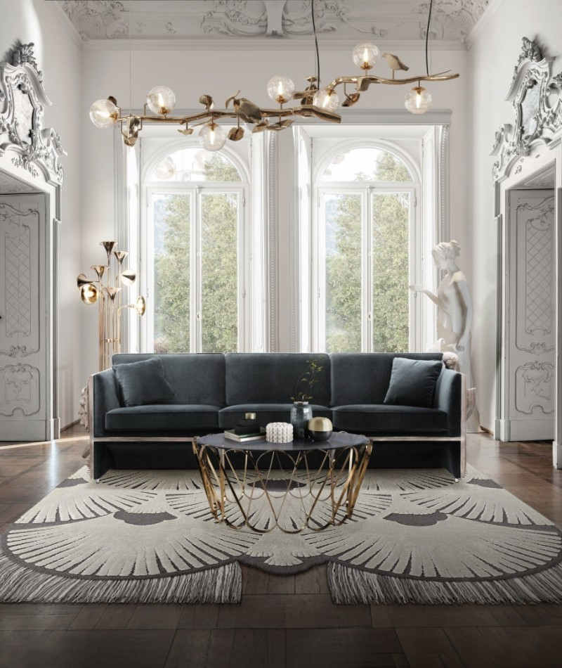 How to Get a Luxurious American Home? Living Room Ideas