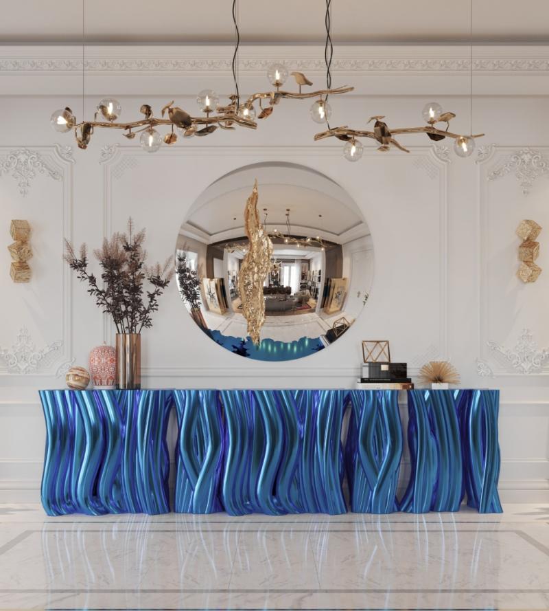 Exquisite Entryway Interior Design Pieces For Dubai's Lifestyle تصميم داخلي في دبي
