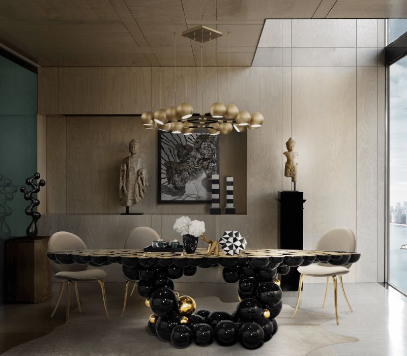 Contemporary Dining Tables To Empower Your Dining Room In London contemporary dining table Contemporary Dining Tables To Empower Your Dining Room In London newton dining table 11 zoom boca do lobo