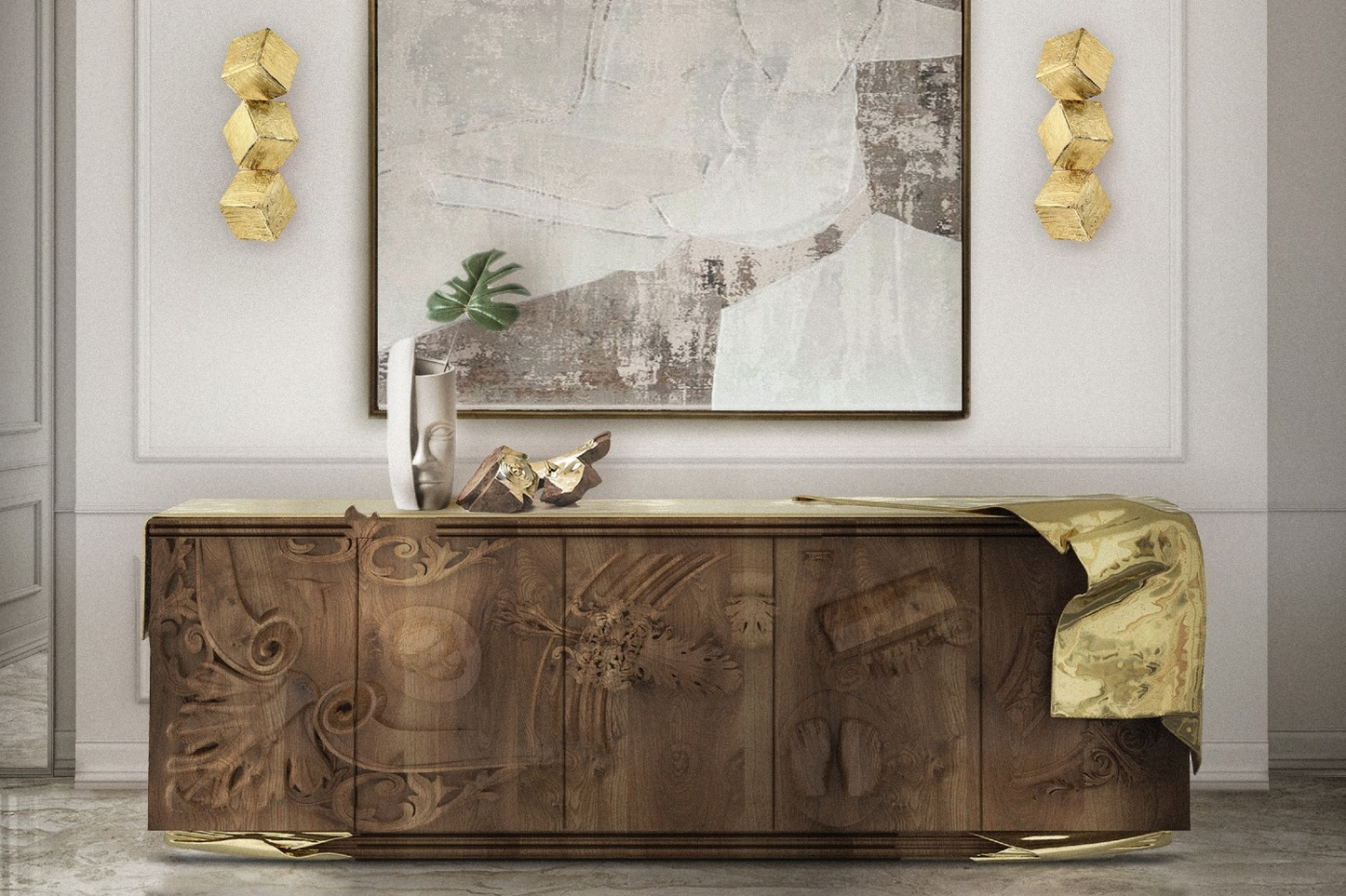 Boca do Lobo Presents The Voltaire Sideboard At Supersalone 2021 ft