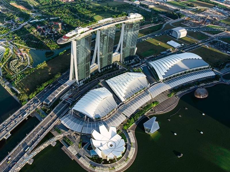 Where To Stay - 10 Best Luxury Hotels in Singapore - Marina Bay Sands Hotel, Singapore   Where To Stay 10 Best Luxury Hotels in Singapore Marina Bay Sands Hotel Singapore