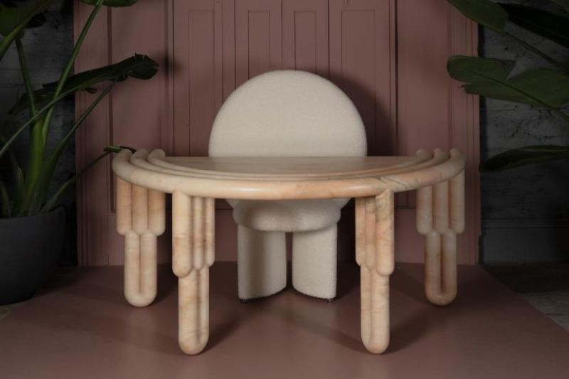 Get Your Afternoon Tea With The Bohinc Studio's New Collection   bohinc studio   kipfel marble desk   photo by r