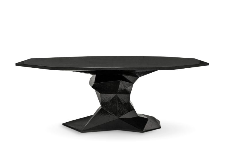 Contemporary Dining Tables To Empower Your Dining Room In London contemporary dining table Contemporary Dining Tables To Empower Your Dining Room In London bonsai black boca do lobo 01