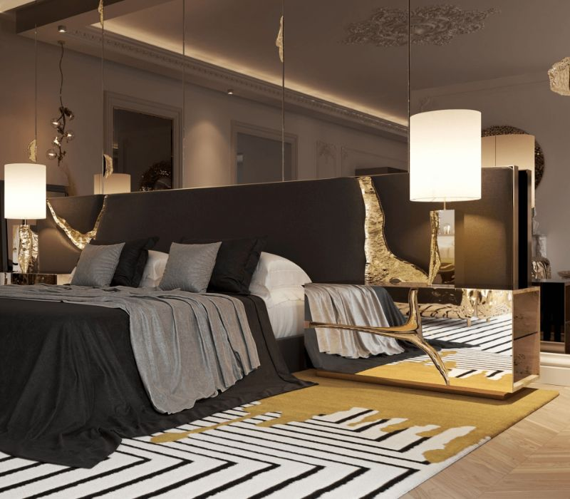 Luxury Bedroom Ideas - Your Private Oasis In Rainy London   dark and intimate bedroom 1