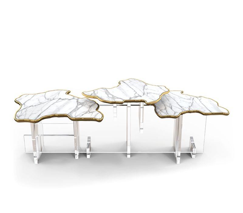 Discover the Incredible Limited Edition Collection by Boca do Lobo | Monet XL Side table