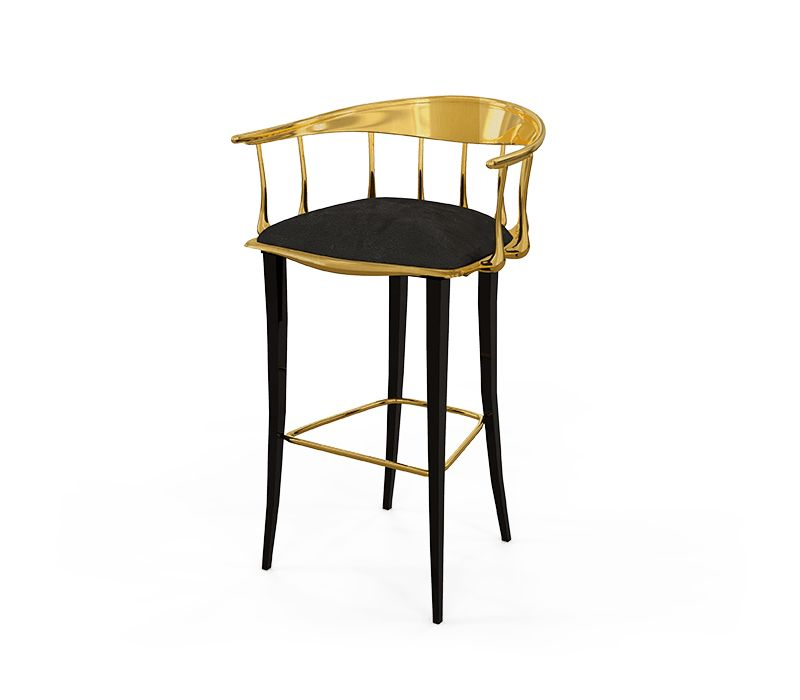 Discover the Incredible Limited Edition Collection by Boca do Lobo| Nº 11 Bar stool