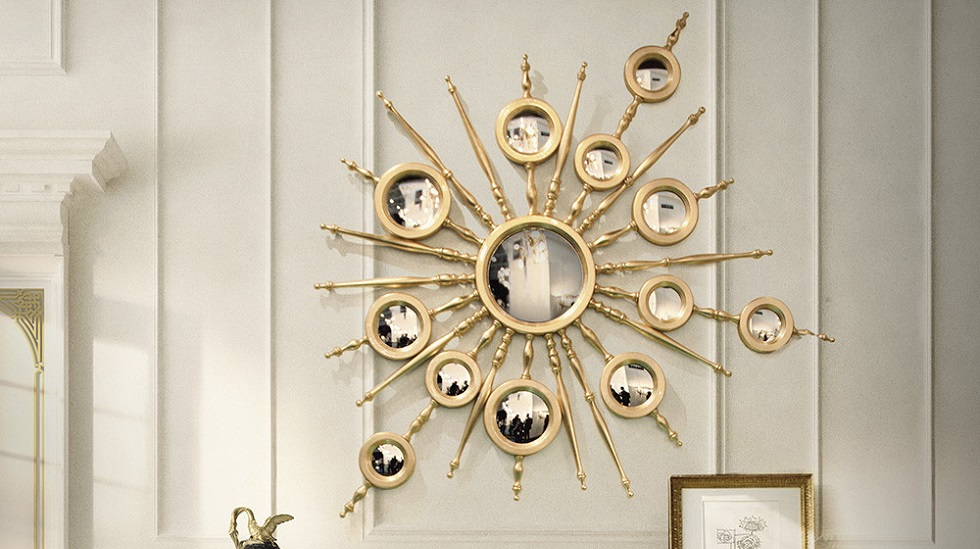 LIVING ROOM DECOR IDEAS: TOP 10 EXTRAVAGANT WALL MIRRORS COVER1