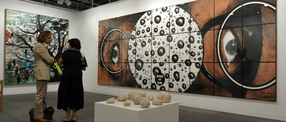 Galleries you can't miss at Art Basel faet