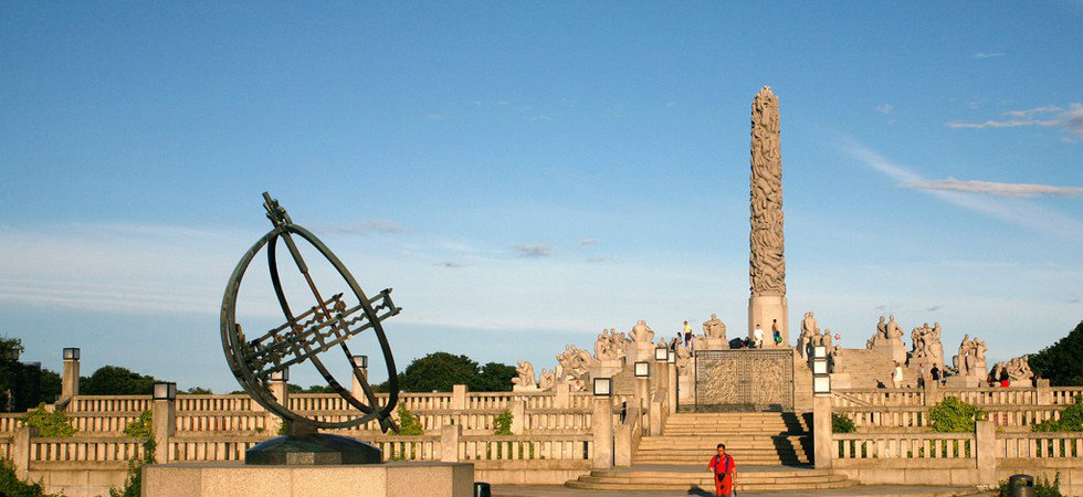 NORWAY'S FAMOUS MONOLITH BY GUSTAV VIGELAND  NORWAY'S FAMOUS MONOLITH BY GUSTAV VIGELAND feat7