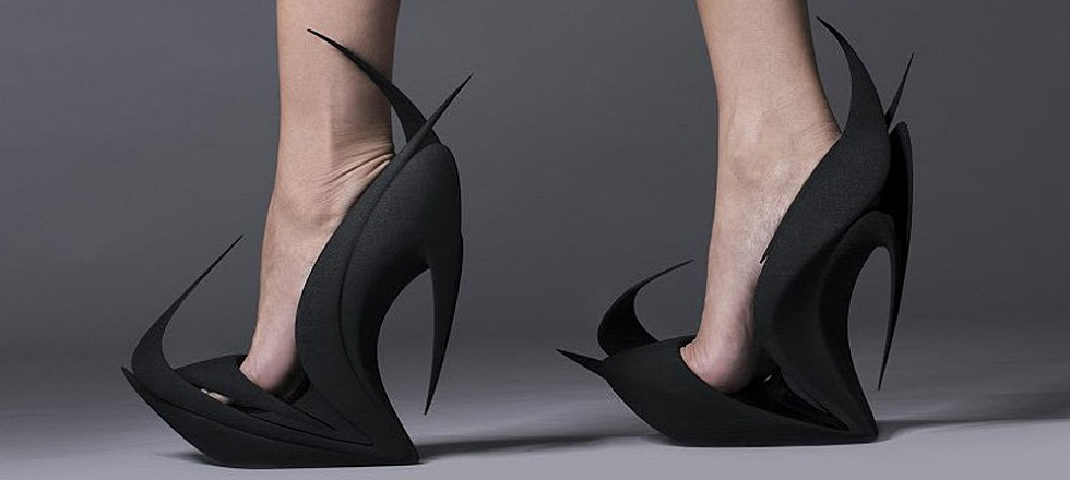 The Re-Inventing Shoes project by United Nude and 3D systems cover8