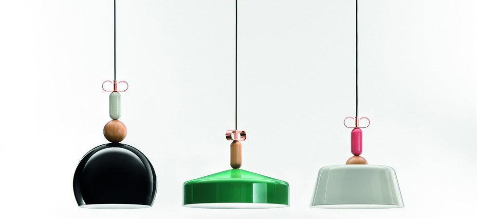 The newest Cristina Celestino pendant lamps' line feat21
