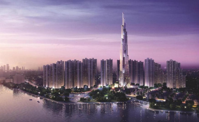 Vietman's Tallest Building by Atkins atkins starts building the tallest building in vietnam1