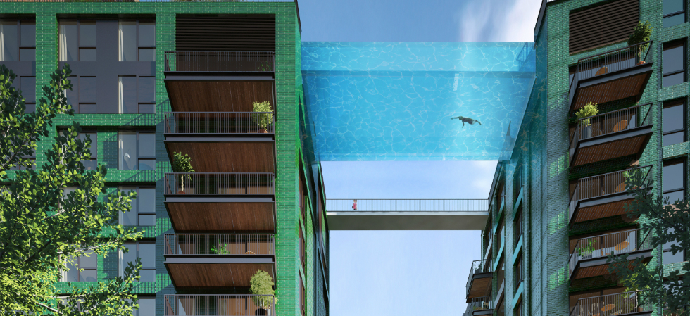 New Sky Pool at London's Nine Elms District new sky pool at londons nine elms district2