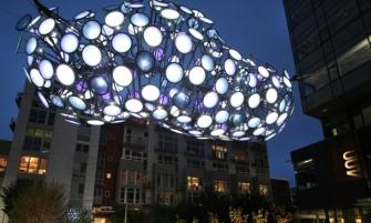 Seattle's Digital Cloud by Dan Corson seattles digital cloud by dan corson 335x201