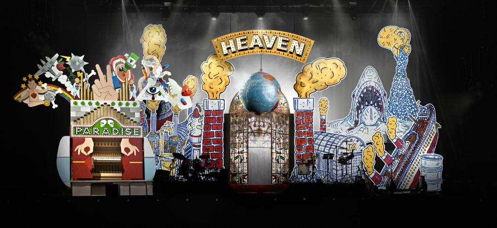 Studio Job Develops Stage for Mika's New Tour studio job develops stage for mikas no place in heaven tour 91
