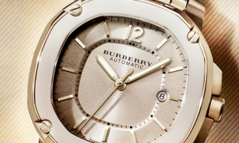 Burberry's Limited Edition – 18K Trench Gold 2014 WATCHES THE BRITAIN CAMPAIGN BBY2007 LTD EDITION A 335x201