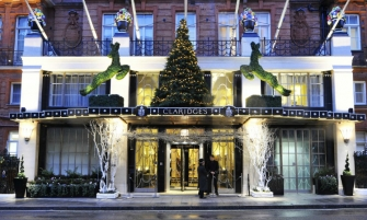 Burberry Designs Christmas Tree for Claridge's  Burberry Designs Christmas Tree for Claridge's Burberry Designs Christmas Tree for Claridge   s 335x201