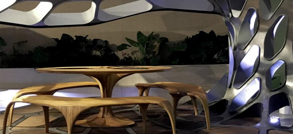Zaha Hadid Launches Volun Dining Pavillion at Design Miami Zaha Hadid Zaha Hadid Launches Volun Dining Pavillion at Design Miami Zaha Hadid Launches Volun Dining Pavillion at Design Miami