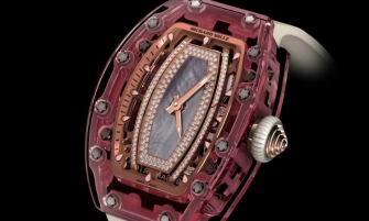 Entirely Pink Sapphire Watch by Richard Mille  Entirely Pink Sapphire Watch by Richard Mille feat6 335x201