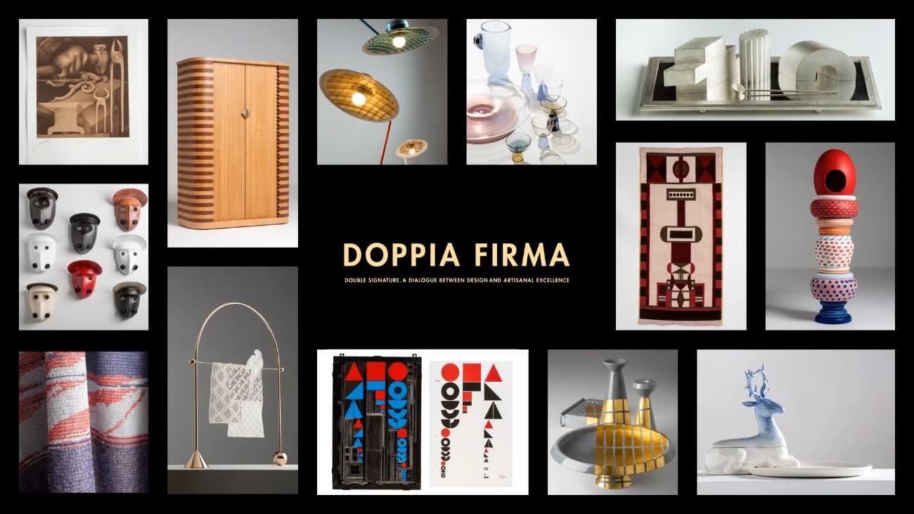 Milan Design Week 2019 - Craftsmanship Masterpieces in Doppia Firma FT milan design week Milan Design Week 2019 – Craftsmanship Masterpieces in Doppia Firma Milan Design Week 2019 Craftsmanship Masterpieces in Doppia Firma FT