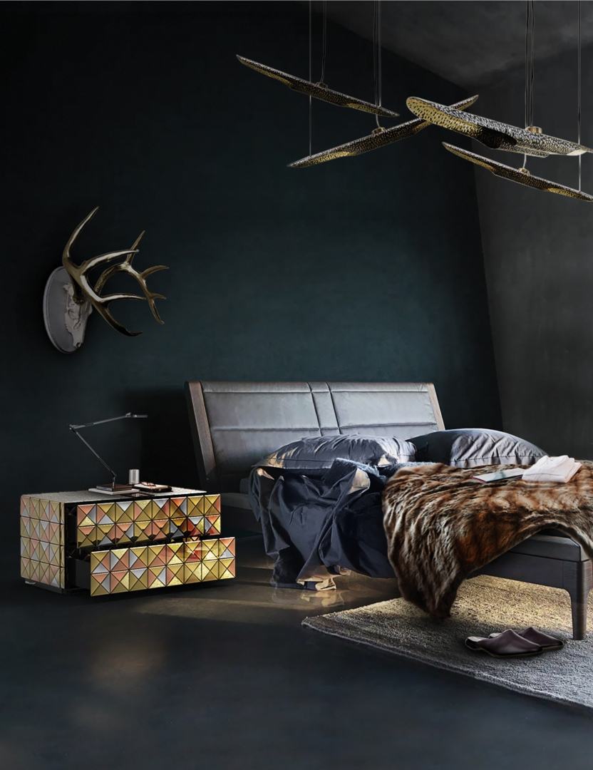 Perfect Bedroom Interior Design Projects For Dubai's Lifestyle bedroom interior design Perfect Bedroom Interior Design Projects For Dubai's Lifestyle modern master bedroom