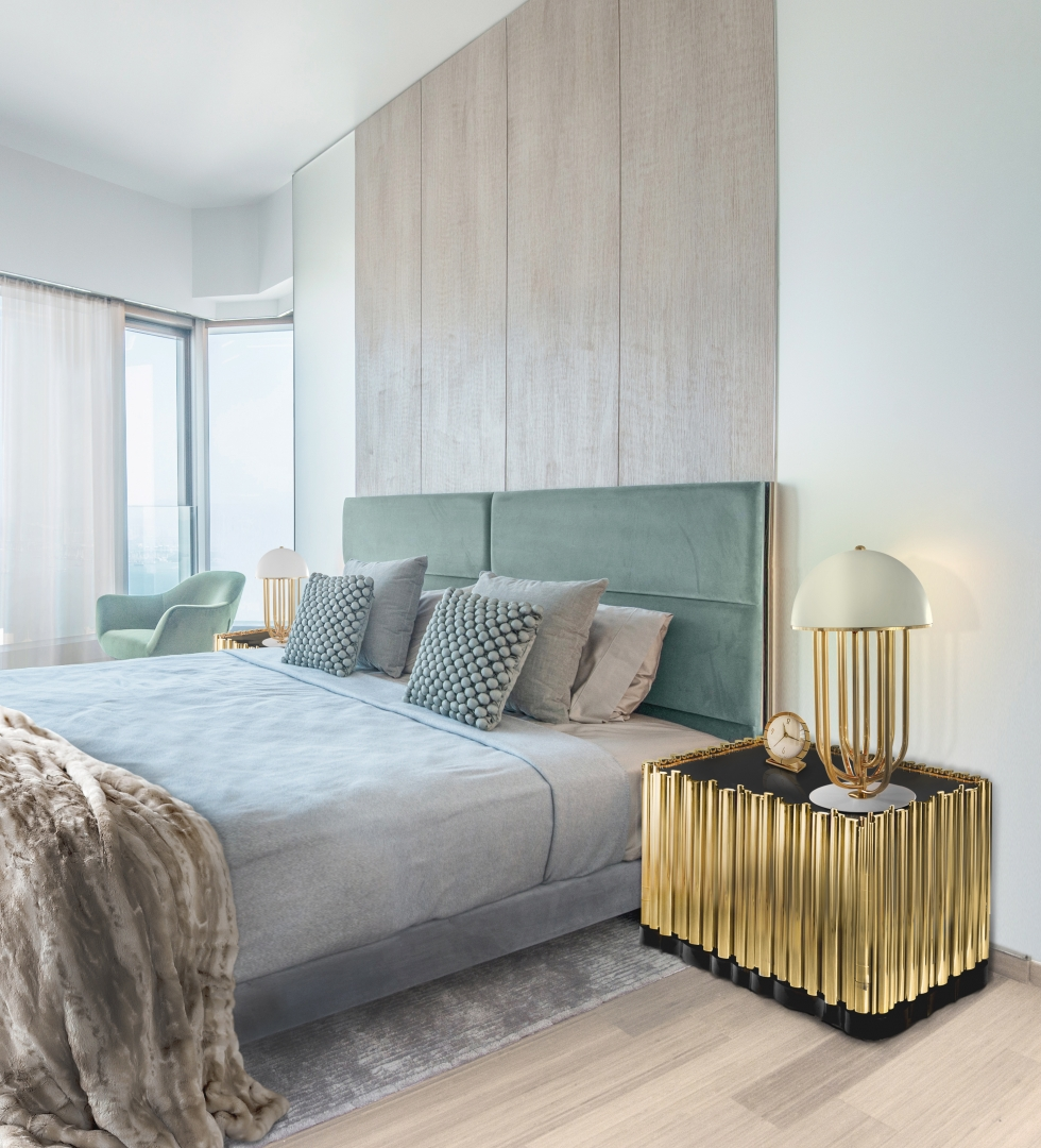 Perfect Bedroom Interior Design Projects For Dubai's Lifestyle bedroom interior design Perfect Bedroom Interior Design Projects For Dubai's Lifestyle modern master suite
