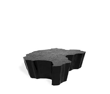 Eden Black Center Table, Contemporary Design by Boca do Lobo