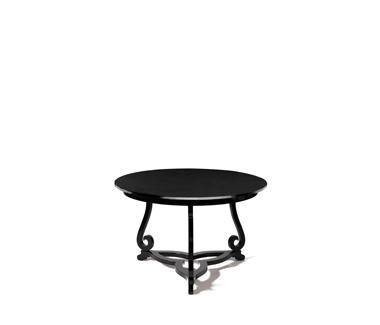 Curated Flourish Pedestal Table by Boca do Lobo
