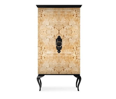 Guggenheim Poplar Cabinet Curated Design by Boca do Lobo