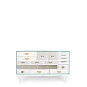 soho white sideboard w 140 cm d 48 cm h 90 cm