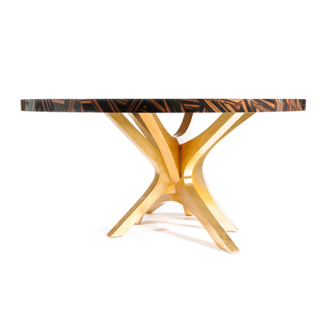 Patch Dining Table Wood Top By Boca Do Lobo