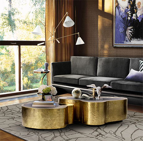 Wave Center Table Exclusive Furniture