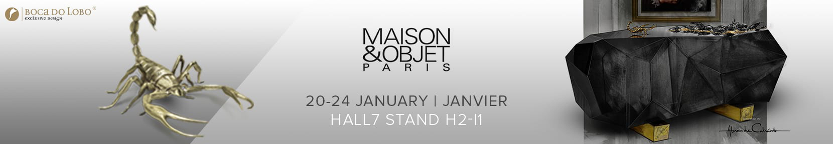 maison et objet MAISON ET OBJET 2017: EXPLORE THE WORLD OF LIGHTING BY LUXURY BRANDS banner blogs M O 2017
