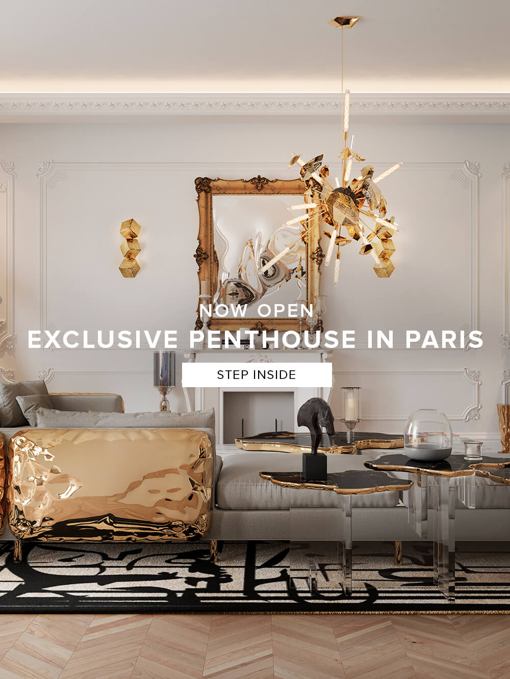 Now Open - Exclusive Penthouse in Paris - Step Inside