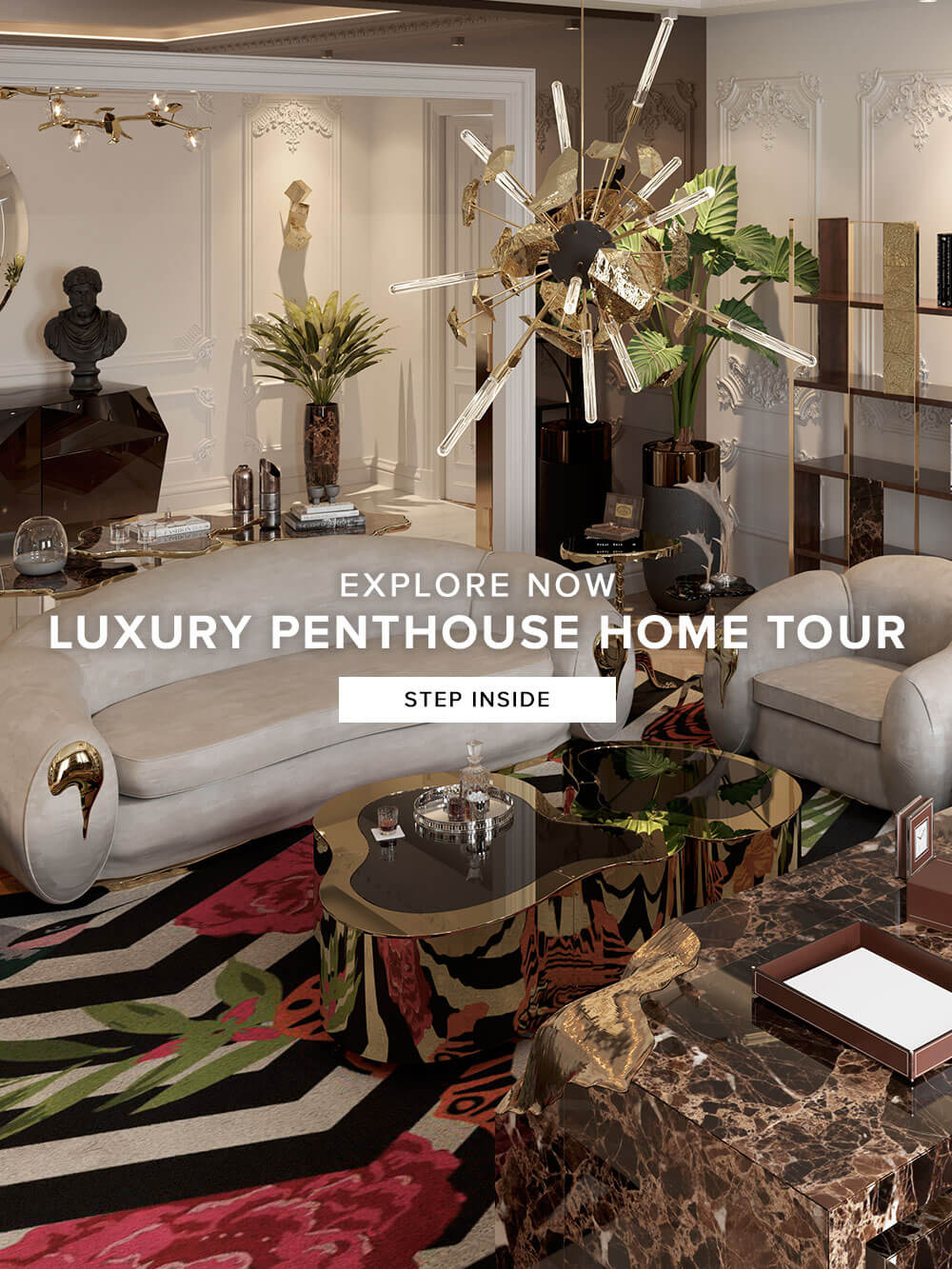 Explore Now - Exclusive Penthouse in Phris - Step Inside