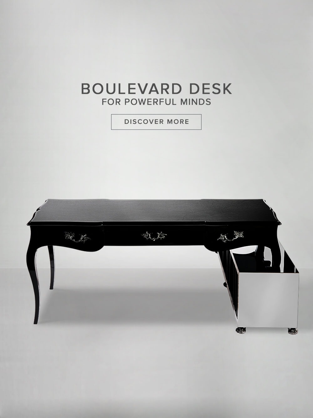 Boulevard Desk - For Powerful Minds - Discover More