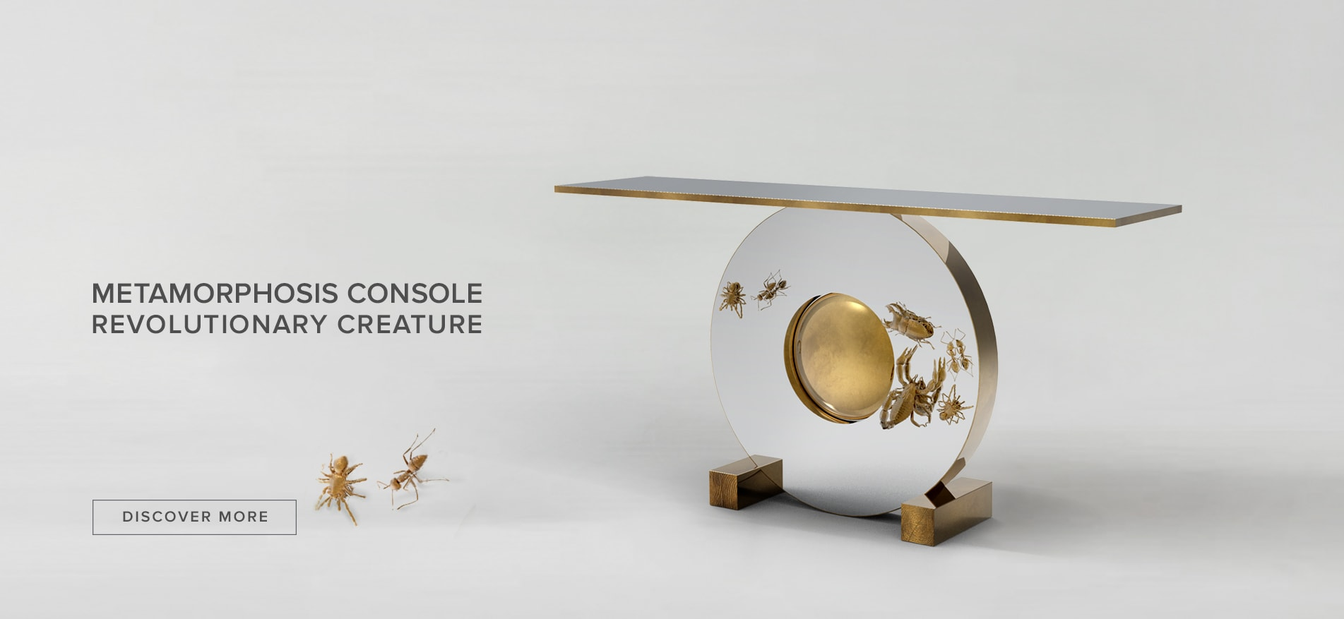 Metamorphosis Console by Boca do Lobo