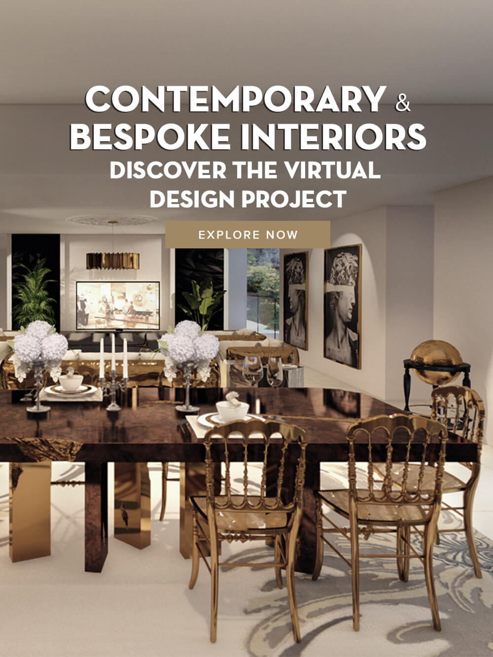 Contemporary and Bespoke Interiors - Discover the Virtual Design Project