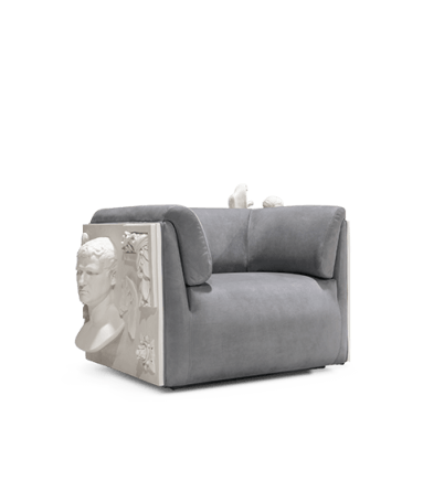 Contemporary Versailles Armchair by Boca do Lobo - Boca do Lobo