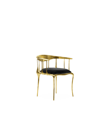 Contemporary N11 Dining Chair by Boca do Lobo - Boca do Lobo