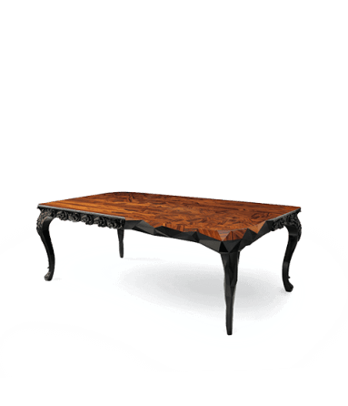 Contemporary Royal Dining Table by Boca do Lobo - Boca do Lobo