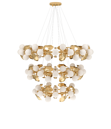 Contemporary Supernova Chandelier by Boca do Lobo - Boca do Lobo