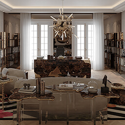 Office - House of Boca do Lobo Paris