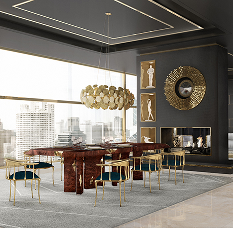 Empire Dining Table Exclusive Furniture