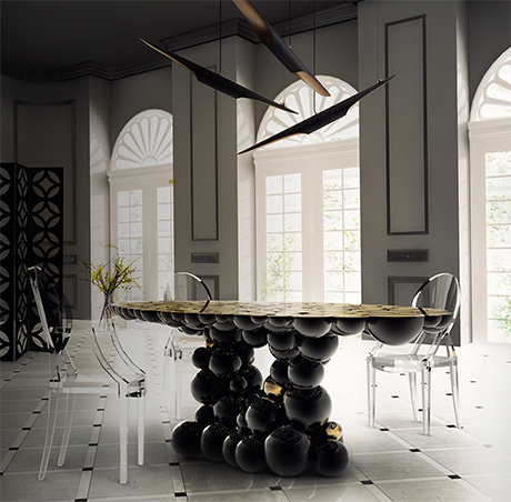 Dining Tables from Boca do Lobo  Exclusive Design