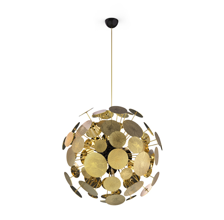 Exclusive Furniture Lamp Suspension Newton Newton TFJl1Kc