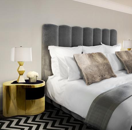 10 modern schlafzimmer bank designs, wave nightstand exclusive furniture, Design ideen